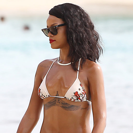 Pictures Of Rihanna On The Beach In A Sexy Bikini