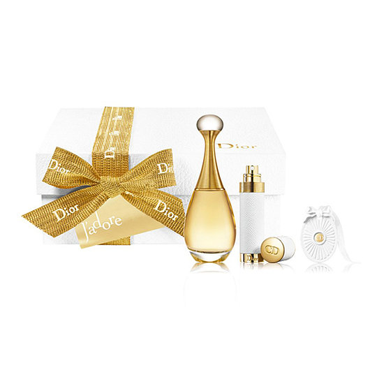There's nothing more classic than Christian Dior J'adore. Whether the woman you're shopping for has been using it for years or is looking for a new signature scent, she'll be pleased to receive this Holiday Signature Set ($130).
