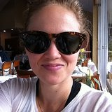 Erika Christensen stole her friend's Céline sunglasses (and took this selfie while wearing them). Source: Instagram user erikachristensen