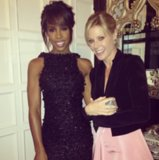 Kelly Rowland shared a snap with Modern Family's Julie Bowen. Source: Instagram user kellyrowland