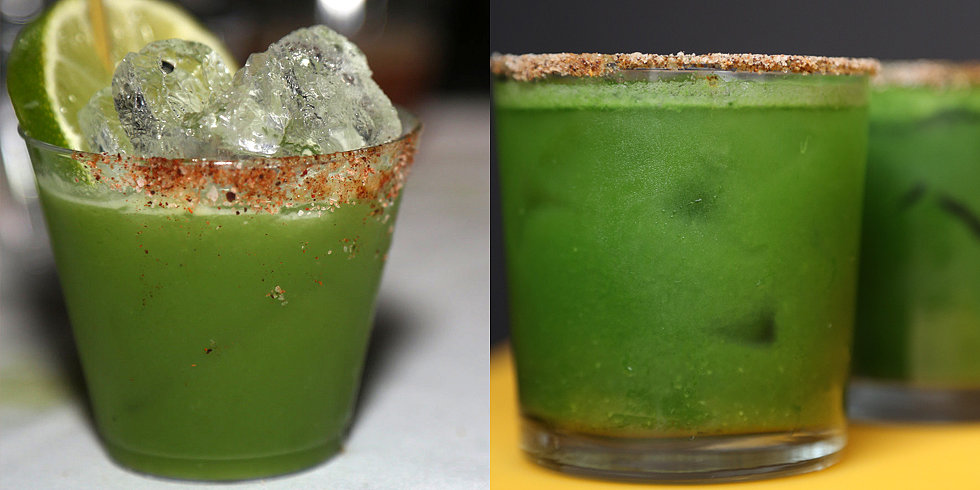 Una Green Juice Margarita, Por Favor