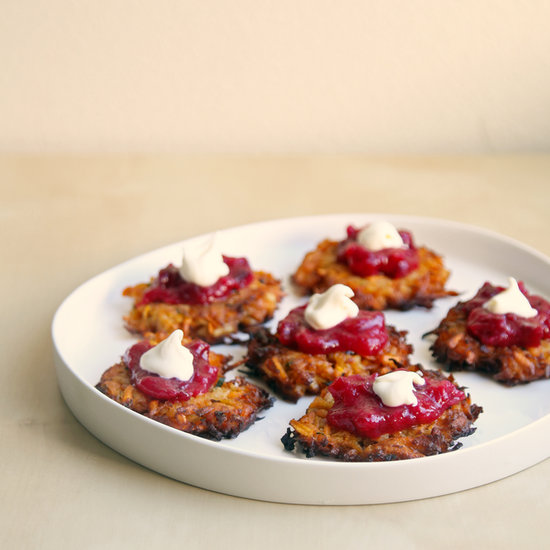 Sweet Potato Latkes Recipe | POPSUGAR Food