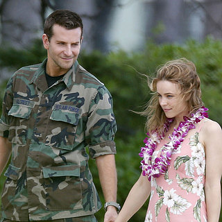 Bradley Cooper and Rachel McAdams on Set in Hawaii