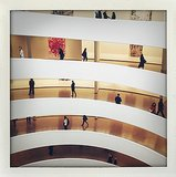 The Guggenheim wasn't just home to this week's Dior party! Source: Instagram user kystyle