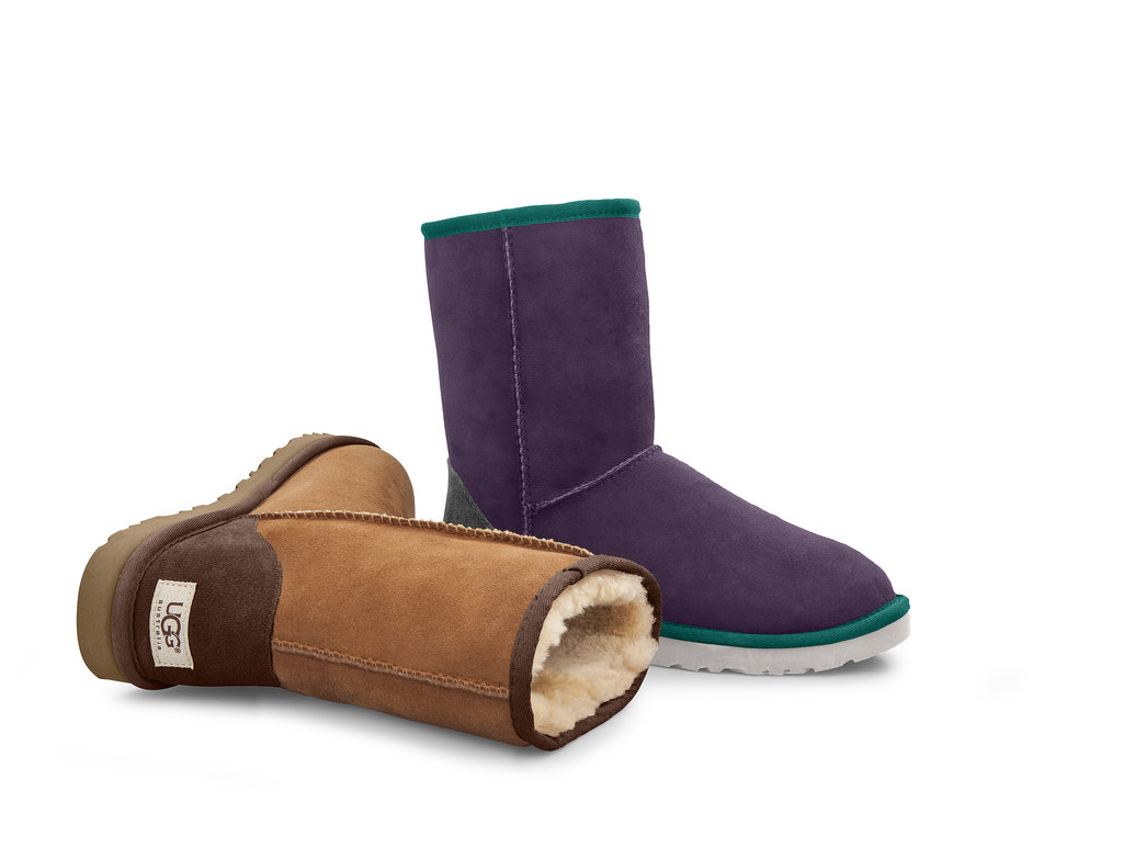 For anyone after a comfortable boot, Uggs are always a must shop, and this season, they're even better. These Ugg Australia Custom Classic Short Boots ($220) are customizable.