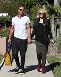 Gwen Stefani and Gavin Rossdale held hands while heading to a doctor's office.
