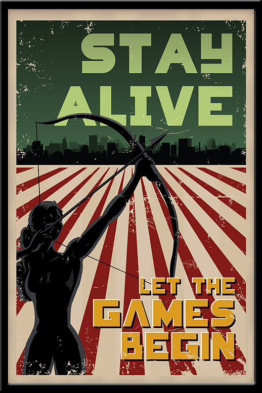 """""""Stay Alive"""" Poster ($13)"""