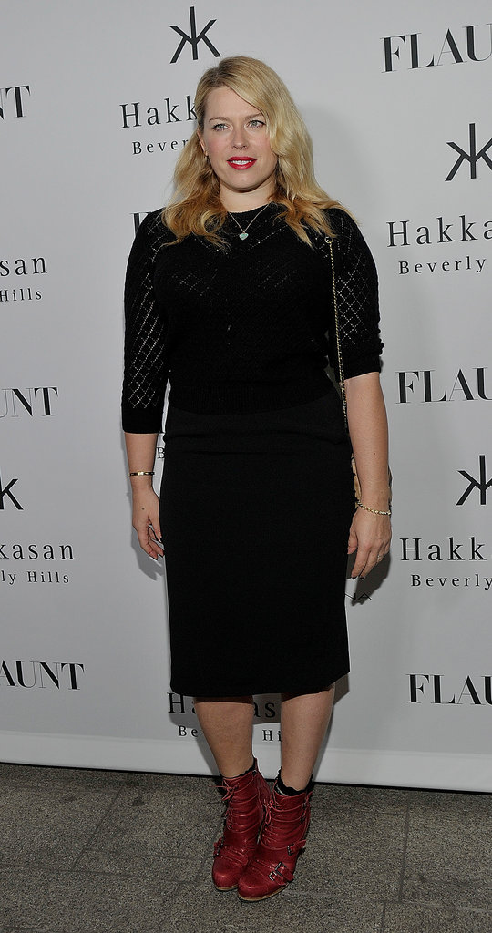 Amanda de Cadenet attended the Flaunt magazine issue launch event after photographing Selena Gomez for the November issue.