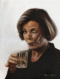 Arrested Development Lucille Bluth Portrait ($45)
