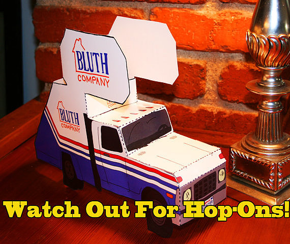 Cut-and-Fold Bluth Company Staircar ($20)
