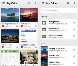 Google Drive For iOS