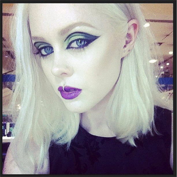 Illamasqua clearly knows a thing or two about makeup artistry! Source: Instagram user illamasqua