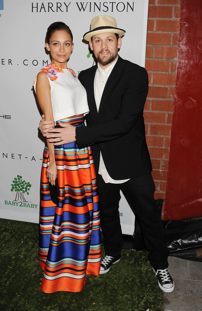 Nicole Richie and Joel Madden looked cute on the red carpet together.