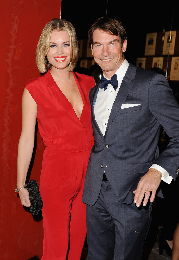 Rebecca Romijn and Jerry O'Connell were all smiles at the Baby2Baby Gala.