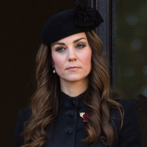 Kate Middleton and Prince William During Remembrance Day