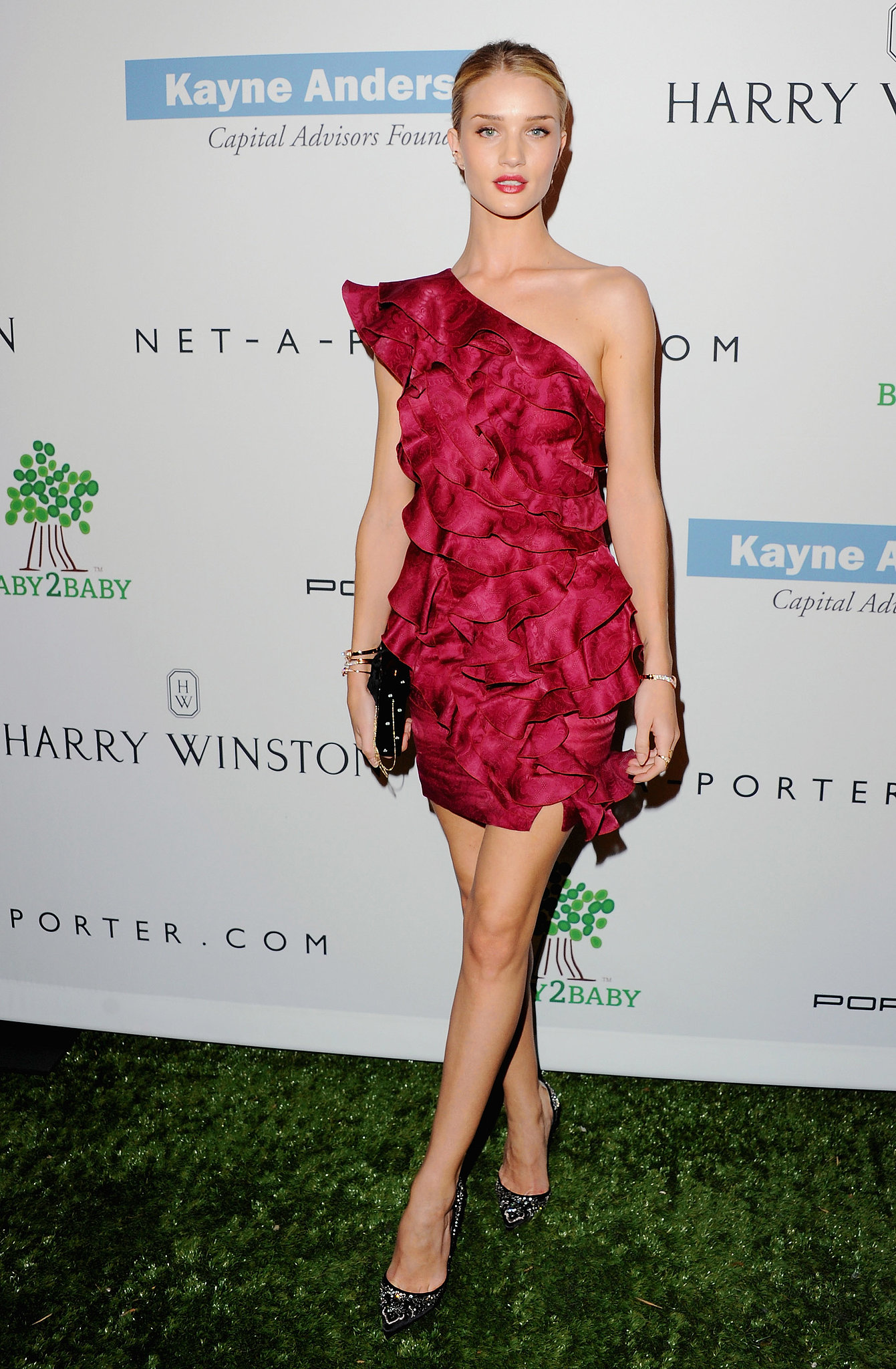 Rosie Huntington-Whiteley in Isabel Marant at the Baby2Baby Gala.