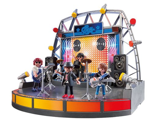 For 5-Year-Olds: Playmobil PopStars