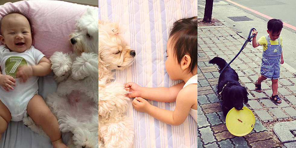Puppy Love! The Sweetest Snaps of Kids and Their Best Buds