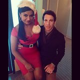Merry Christmas! Source: Instagram user mindykaling