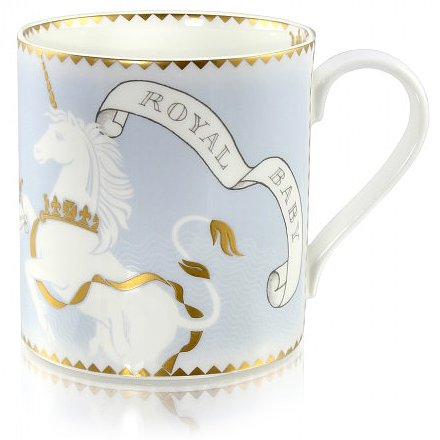 The Royal Collection Trust's Royal Baby Mug ($32)This royals-sanctioned mug includes a lion and unicorn from Kate Middleton and Prince William's coat of arms.