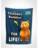"Ted ""Thunder Buddies"" Fleece Blanket ($18, originally $23)"
