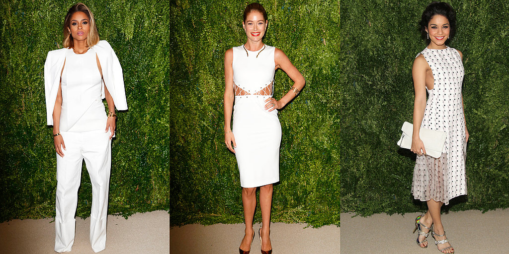 White Out! The Style Set Celebrate At The CFDA/ Vogue Fashion Fund Gala