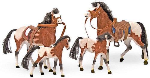 Melissa and Doug Kids Toys, Horse Family