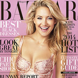 Kate Hudson Harper's Bazaar December 2013 Cover
