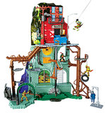 For 6-Year-Olds: Teenage Mutant Ninja Turtles Secret Sewer Lair Playset
