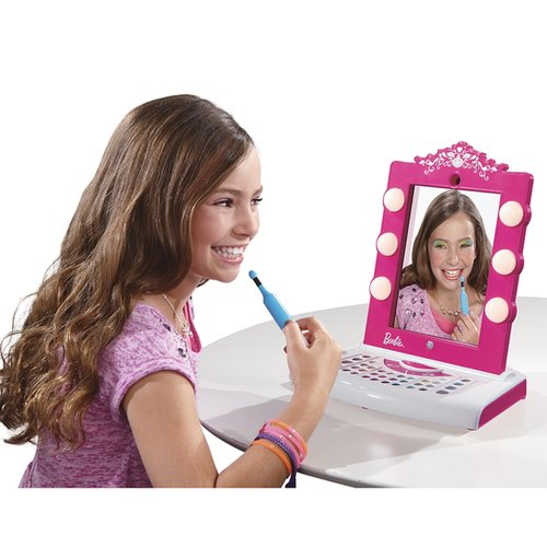 For 5-Year-Olds: Barbie Digital Makeover Mirror