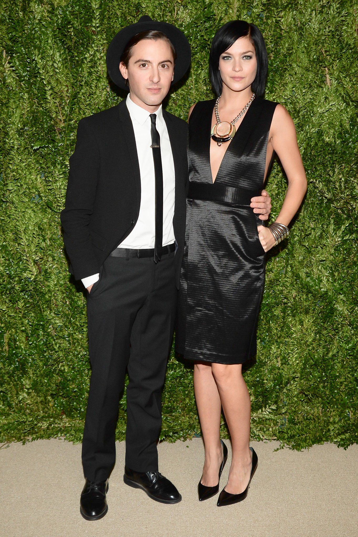 Eddie Borgo and Leigh Lezark at the CFDA/Vogue Fashion Fund Awards.