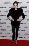 Coco Rocha at the Glamour Women of the Year Awards.