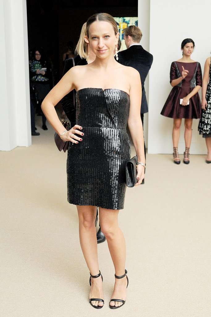 Jennifer Meyer at the CFDA/Vogue Fashion Fund Awards.