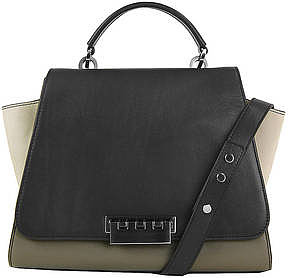 Zac Posen Earth Leather & Nubuck Shoulder Bag ($495)