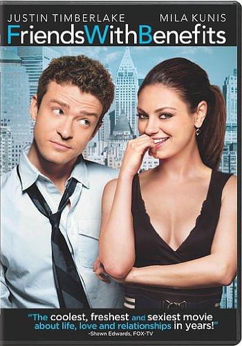 Friends With Benefits DVD ($15)