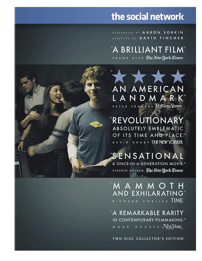 The Social Network Collector's Edition DVD ($15)