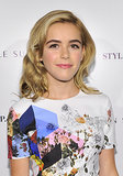 Who she is: Kiernan Shipka How you know her: You've watched her grow up as Sally Draper on Mad Men. Why we love her: Kiernan always looks immaculate on the red carpet, sometimes outshining her much-older costars. If only we'd had a coif that fabulous at 14 years old . . .