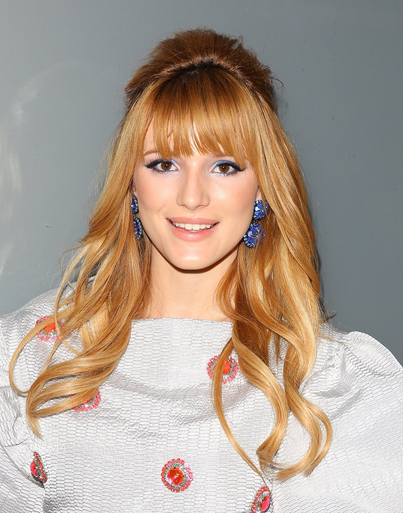 Who she is: Bella Thorne How you know her: She had her breakout roll in Wizards of Waverly Place alongside Selena Gomez.  Why we love her: Nail art, nail art, and more nail art. Bella Thorne is always on her manicure A-game, whether it's cute cats, adorable polka dots, or an oversize bow.