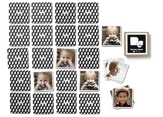 Pinhole Press Memory Game