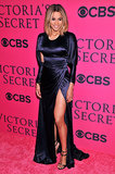 Ciara showed some leg on the red carpet.