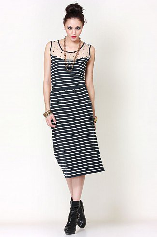 Striper Chic Dress