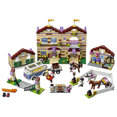 For 7-Year-Olds: Lego Friends Summer Riding Camp