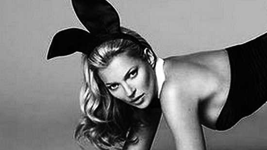 See Kate Moss's First Photo For Playboy!