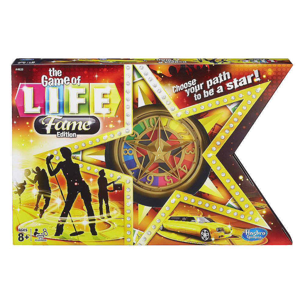 For 8-Year-Olds: The Game of Life Fame Edition