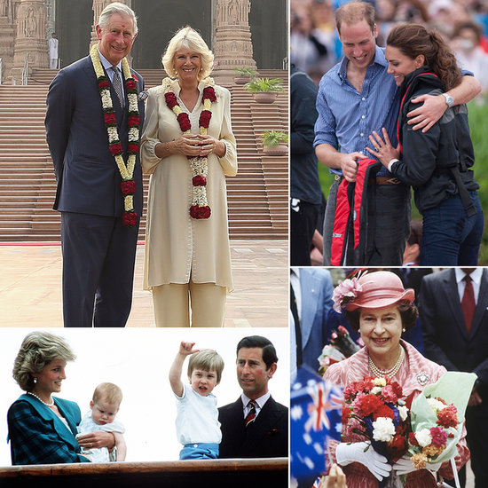 The Royal Family's Travel Album