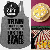You probably know more than a few people who are fervent about the Hunger Games series. If so, POPSUGAR Entertainment has plenty of gifts for fans of the postapocalyptic tale, from essentials like DVD and book sets to cutesy apparel and accessories.