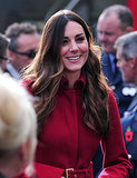 Kate Middleton's middle part got you all revved up, making her one of the most-buzzed-about stories this week on Pinterest, Google+, and Facebook.