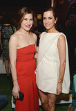 Kathryn Hahn and Kristen Wiig mingled at the film's afterparty.