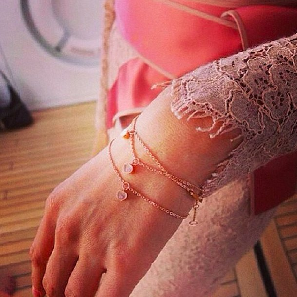 Chopard's bracelet isn't just pretty — it's for a good cause! Source: Instagram user pnemcova