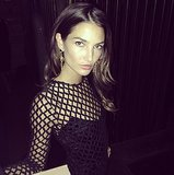 Lily Aldridge perpetually looks as if she's emerging from a magazine editorial. Source: Instagram user harleyvnewton